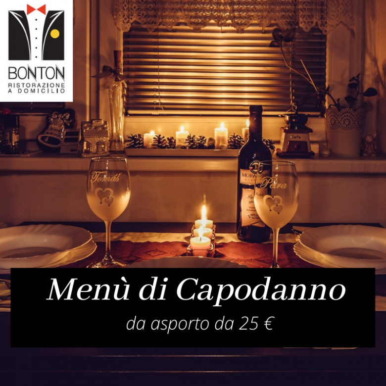 Capodanno Take Away con Bon Ton Catering